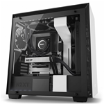 NZXT GAMMING CASE H700 MID TOWER NERO/BIANCO CA-H700W-WB