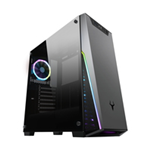ITEK Case T-MASK - Gaming Middle Tower, 2xUSB3, 12cm ARGB fan, Side Panel Temp Glass